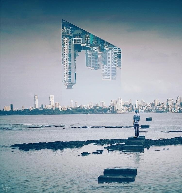 Stay  - Mumbai, city, sky, surreal - riazhassan | ello