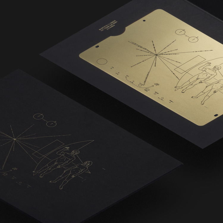 Pioneer Plaque: Message Earth K - duaneking | ello