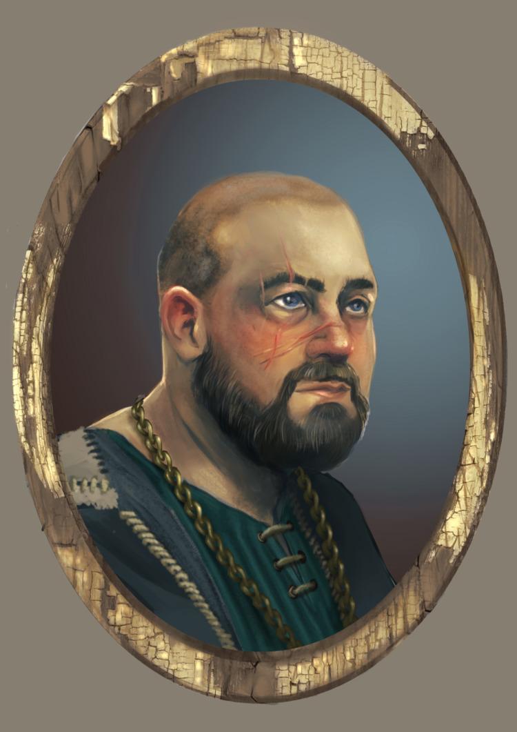 Medieval portrait practise - kniau | ello