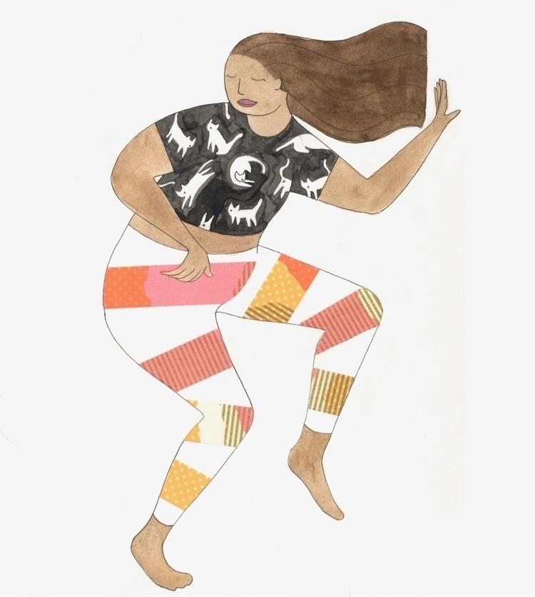 illustration, dance, pattern - ntruskey | ello