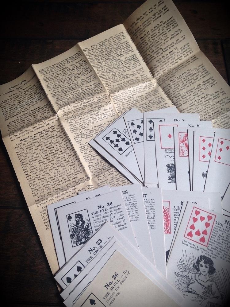 decks vintage Lenormand Decks.  - thewitch | ello