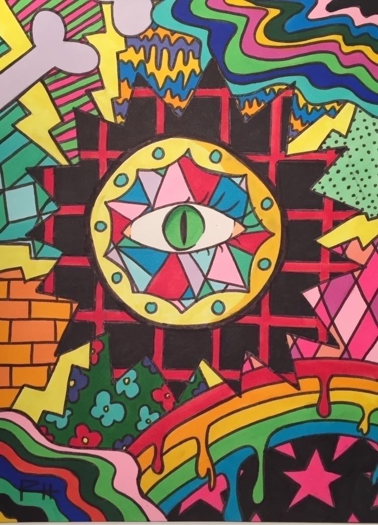 art, painting, marker, copic - elenareyna | ello