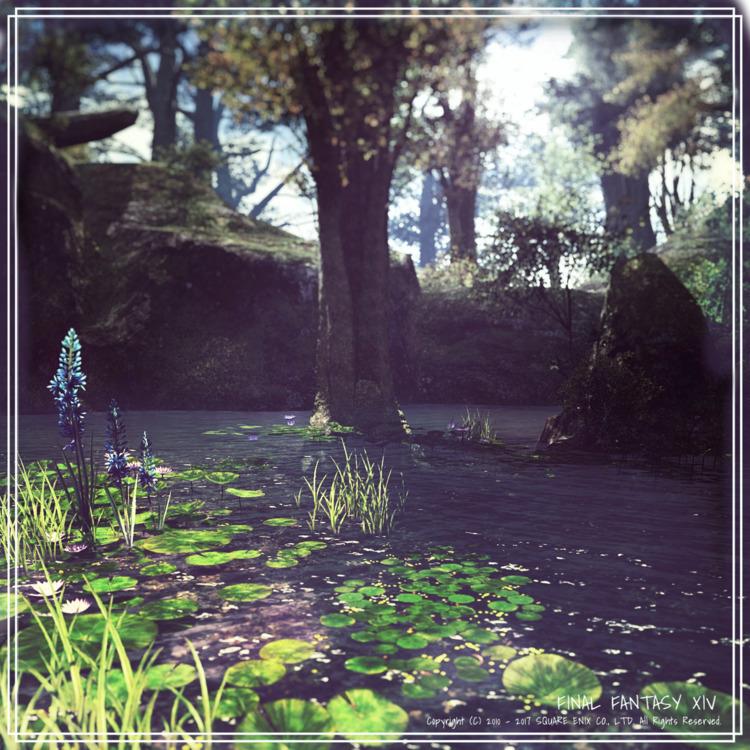 Twitterの企画、ルフロイの泉に参加してみました! 風景は - nonodachiko | ello