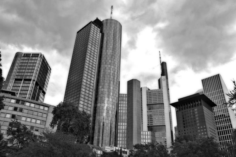 Frankfurt Skyline - blackandwhitephotography - borisholtz | ello