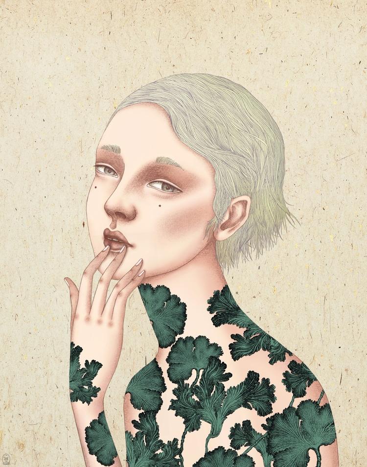 Glad Looked? (graphite paper +  - trillian5050 | ello