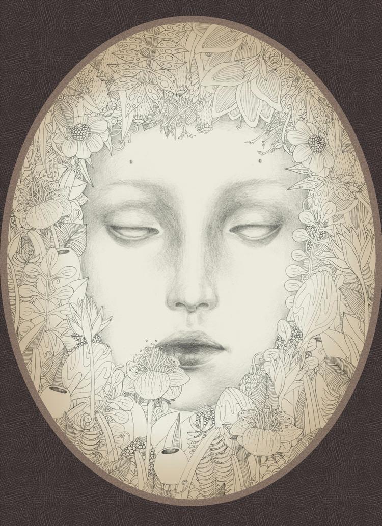 Secret garden (graphite paper + - trillian5050 | ello