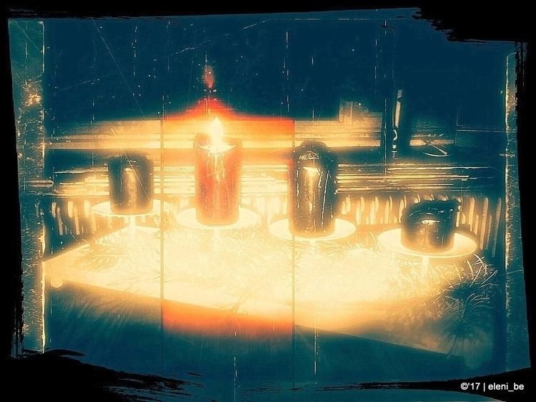 22:45 Candle Mass - DearDissocialDiary: - eleni_be | ello