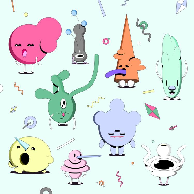Character sheet 1 - illustration - natekogan | ello