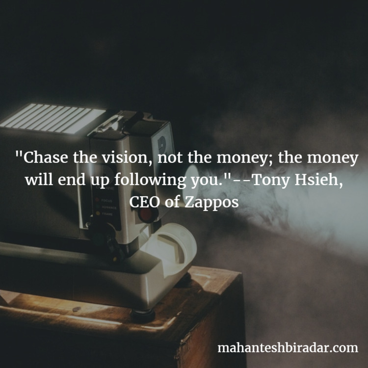 Chase vision, money; money Hsie - dailyinspiration | ello