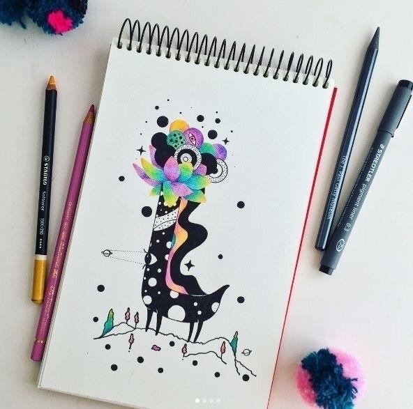~ Find center universe - illustration - suagape | ello