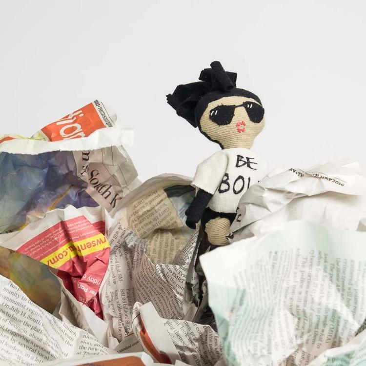 bebold, doll, embroidery, eco - noisybeak | ello