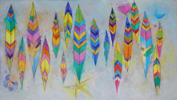 Poetry - paintings, oilcolor, illustration - anaandroska   ello