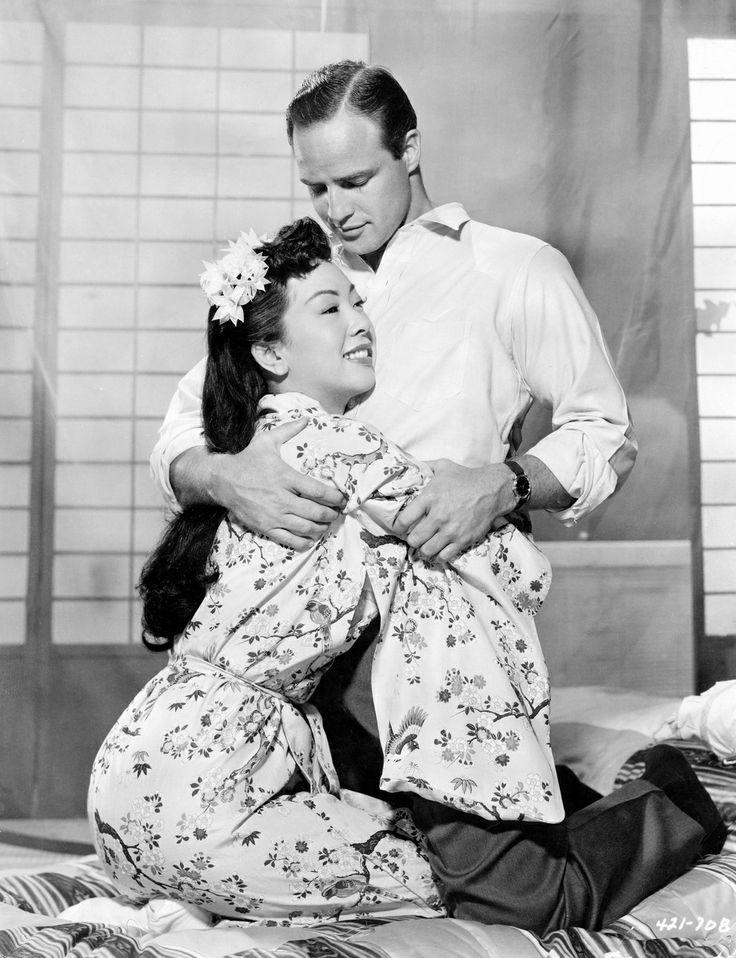 Miiko Taka Marlon Brando, Sayon - arthurboehm | ello