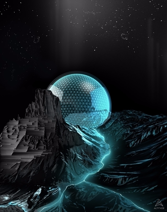 GEOSPHERE - 3d, cinema4d, digitalart - altitxde | ello