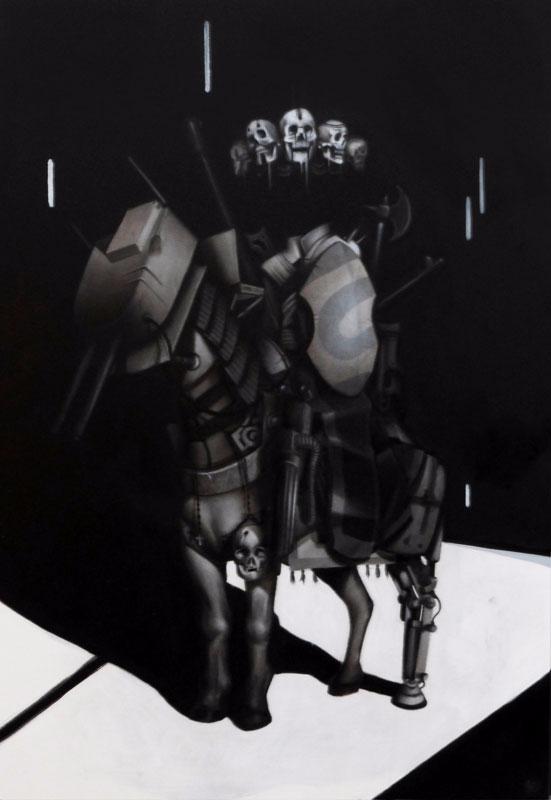 War Horse Oil canvas - stevelawsonart   ello