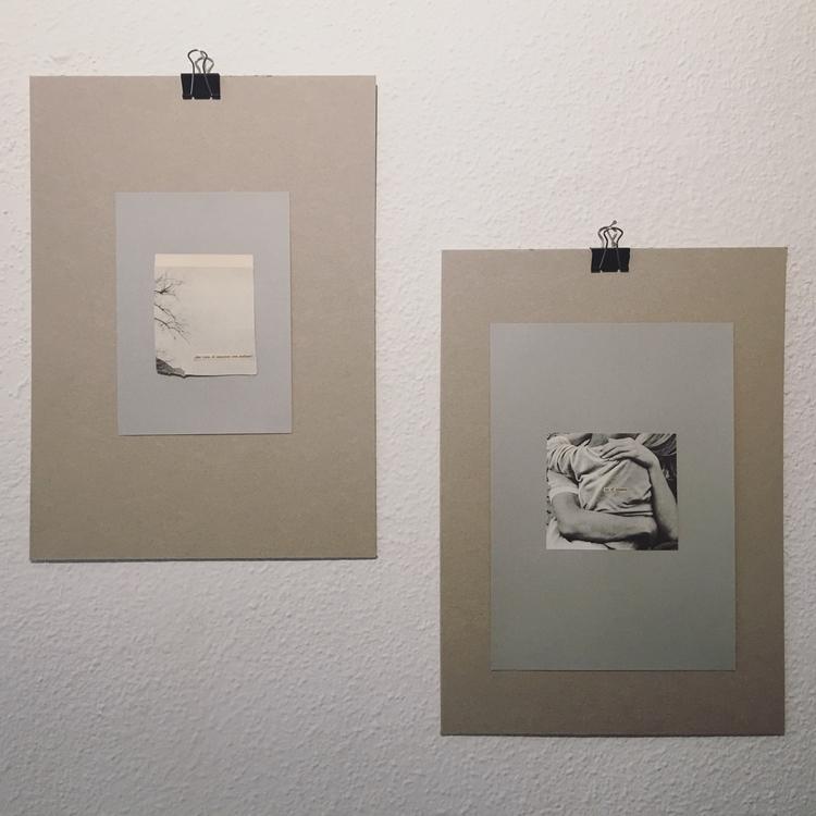 Dos de las obras expuse en el p - annitaklimt | ello