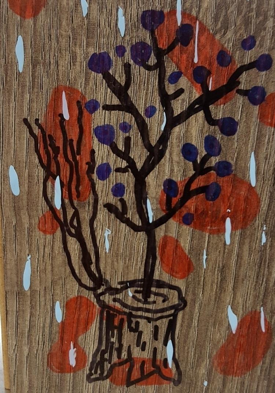 Sharpie acrylic wood - elloart, ellopainting - stevenlarson | ello