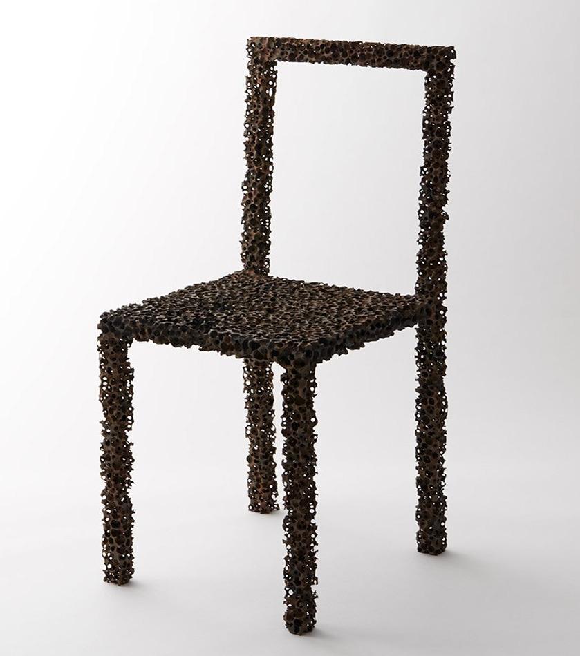 Pockmarked Drought chair. takes - rachelmauricio | ello