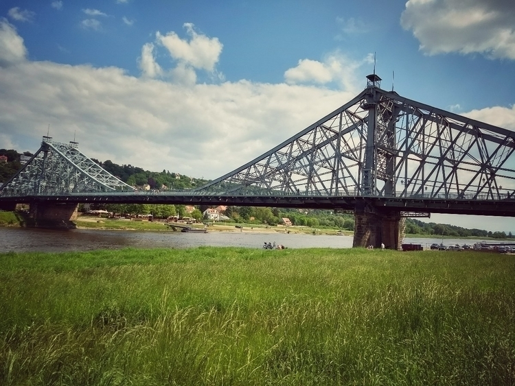 sunday, walk, bridge, river, elbe - claudio_g_c | ello