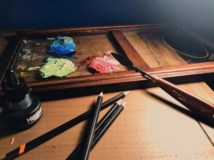 life seemingly simple sits sere - sketch_study | ello