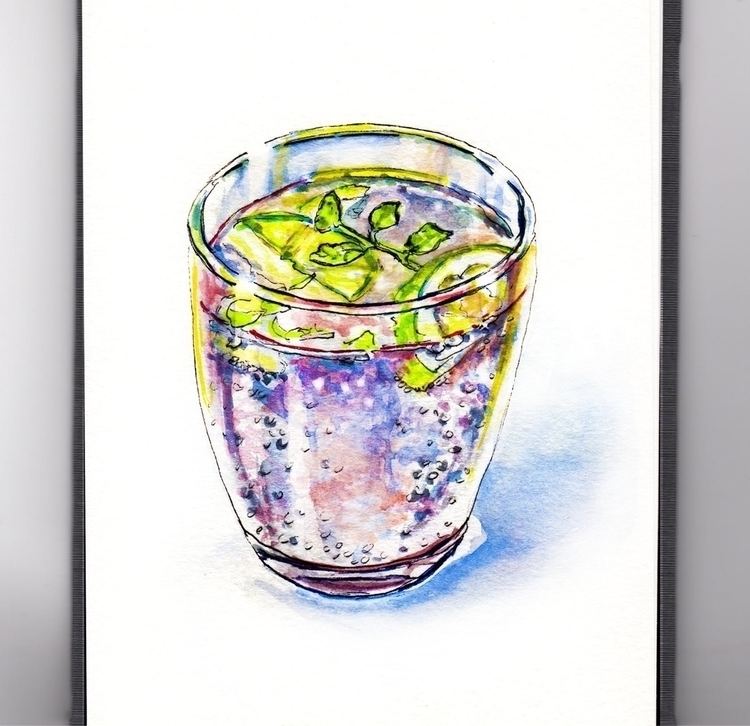 Magical Thinking - watercolor, watercolour - doodlewash | ello