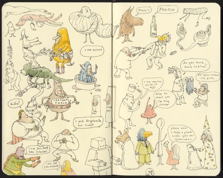 Scottish doodles - mattiasadolfsson | ello