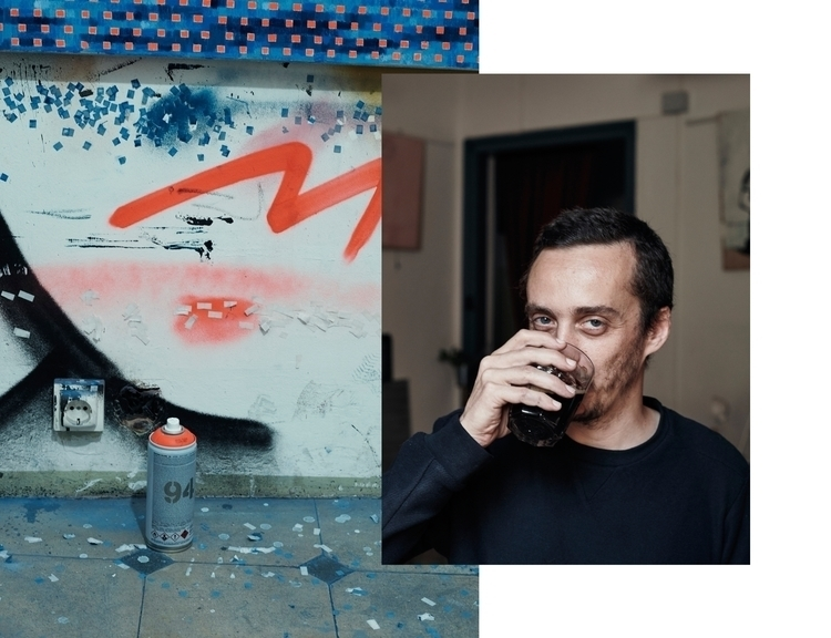 Bertrand - portrait, workinprogress - paulie | ello