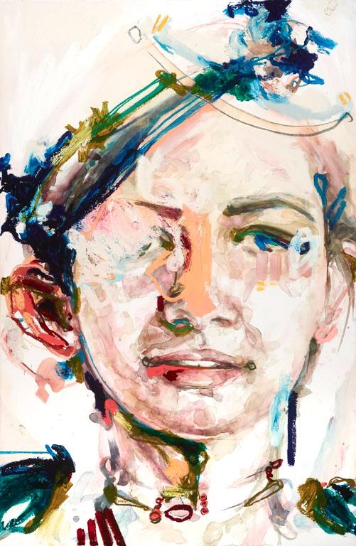 Isa 35x52 watercolor oil canvas - melanieknorris | ello