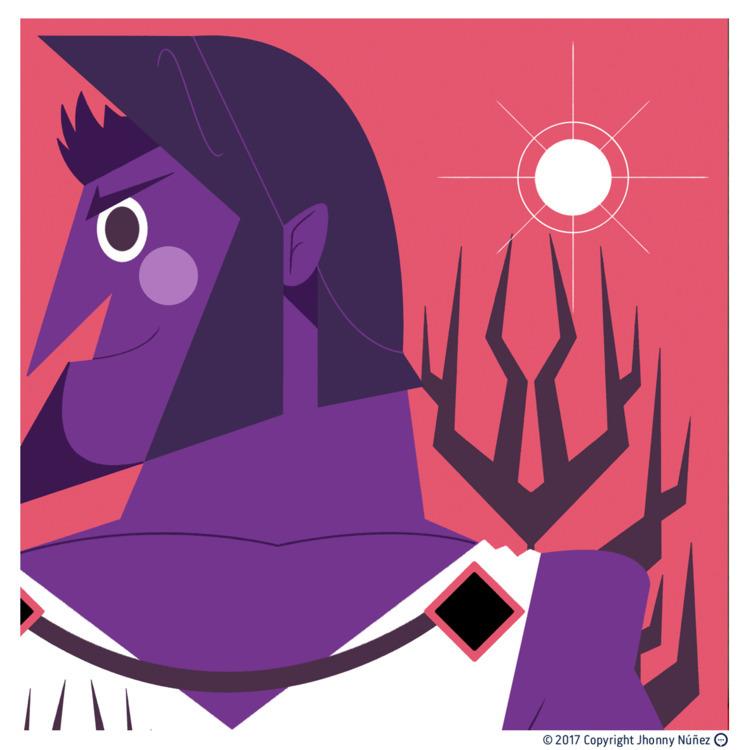 Hades - JhonnyNúñez, Illustration - dblackhand | ello