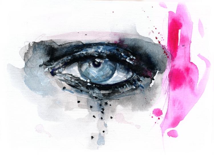 +Makeup Patmcgrath+ - fashionillustration - ibreathart | ello
