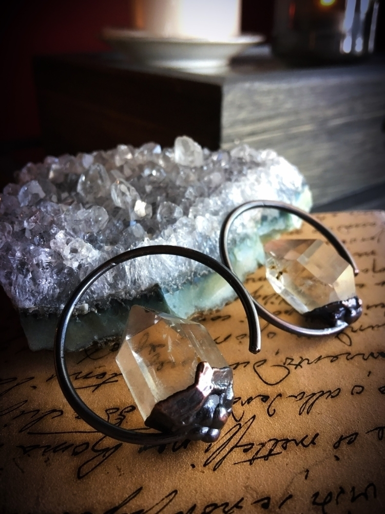 Crystal clear Quartz points oxi - queryeve | ello