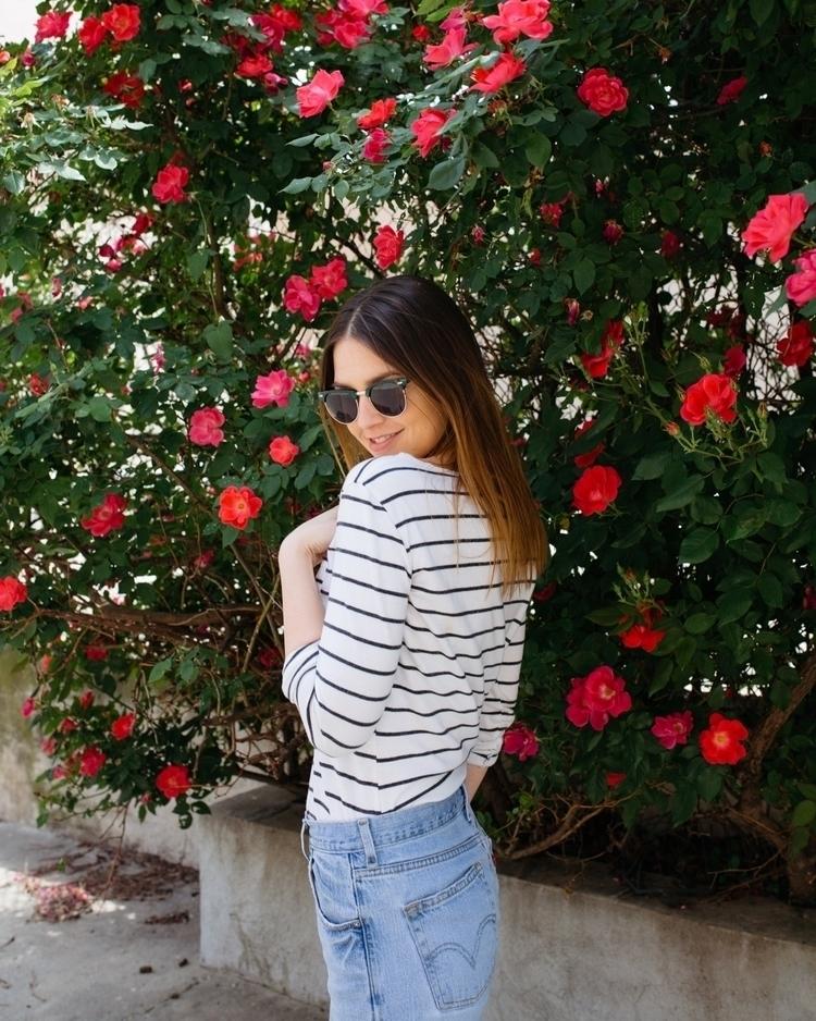 laura roses fashion - portrait, jeans - madelinejean | ello