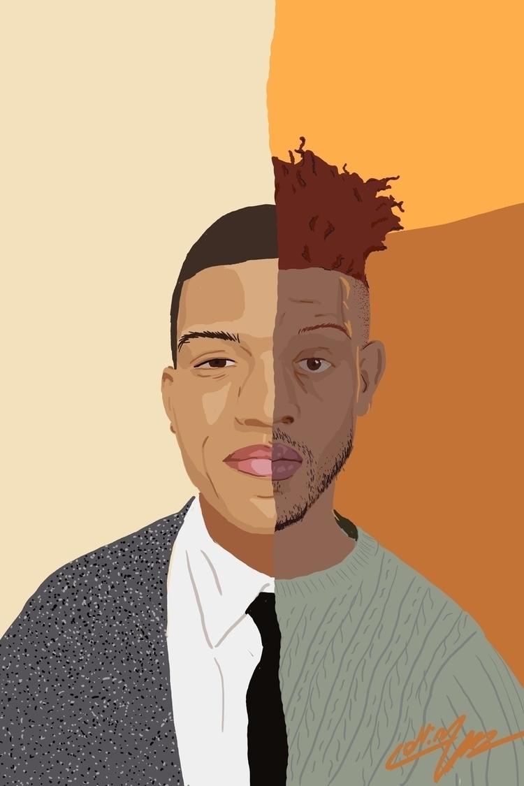 digital portraits working - art - sketch_study | ello