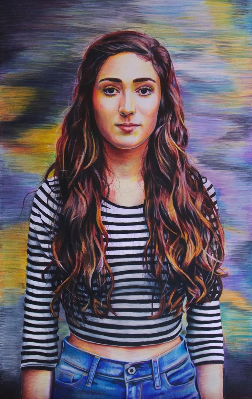 Jaclyn (colored pencil drawing - skyler_brown_portraits | ello