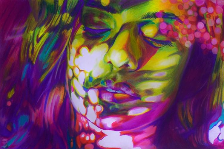Dreamlight (colored pencil draw - skyler_brown_portraits | ello
