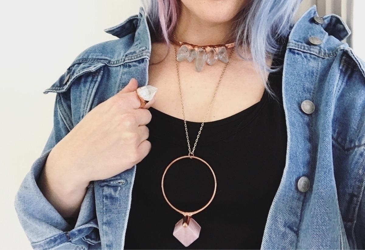 crystals.  - jewelry, ethicaljewelry - lb_jewelry | ello