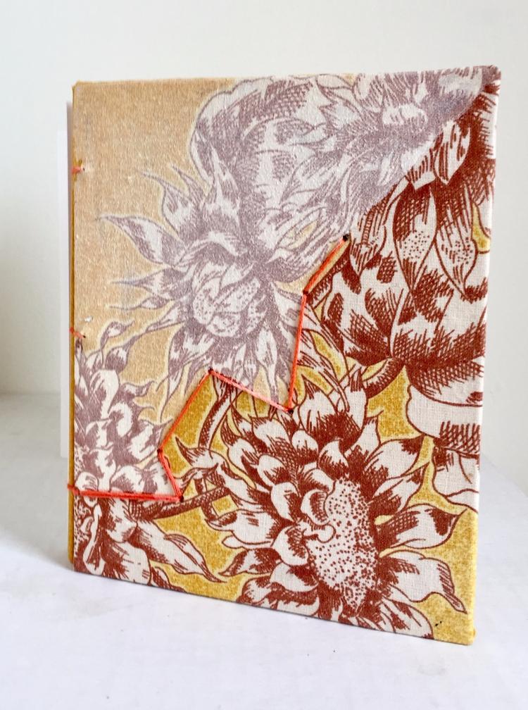 2017, Hand Bound Book 6x5 art p - hyenabones | ello