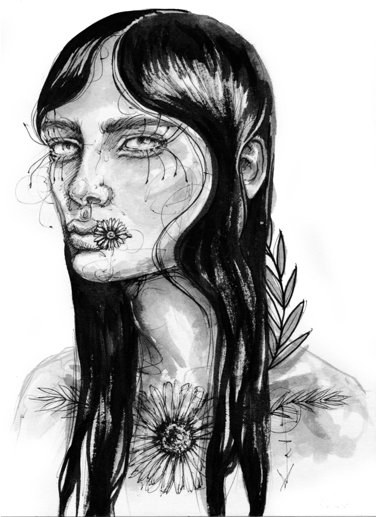 +Girl+ - fashionillustration, fashion - ibreathart | ello