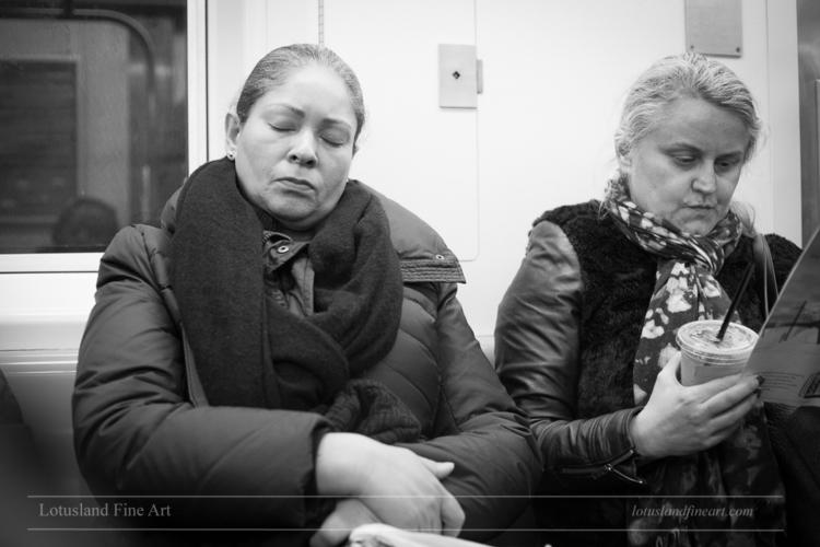 Untitled Subway Riders, 16 Marc - wlotus | ello