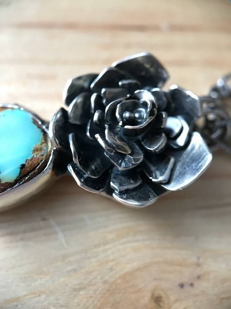 flower pendants Love showing pr - schilverjewelry | ello