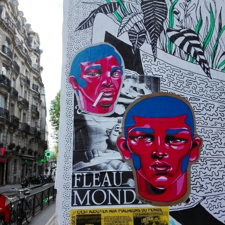 Street art Paris, Canal Saint M - zeldabomba | ello