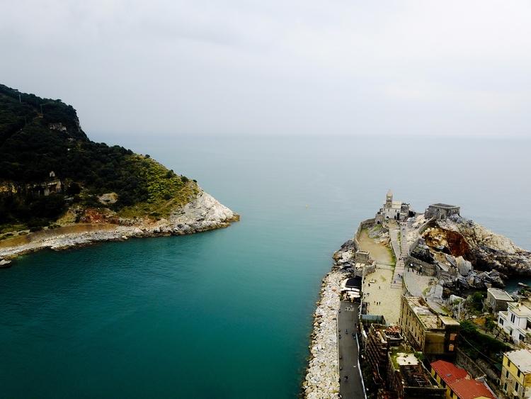 Portovenere, Italy Drone. beaut - jhollaholla   ello