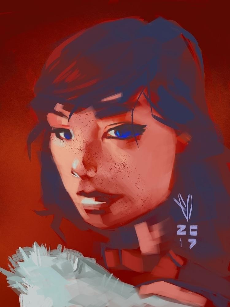 singular, Björk :comet:️ - speedpaint - evandileo | ello