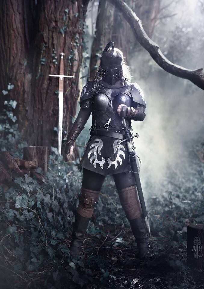 Harbinger armor face mask Model - blueringironworks | ello