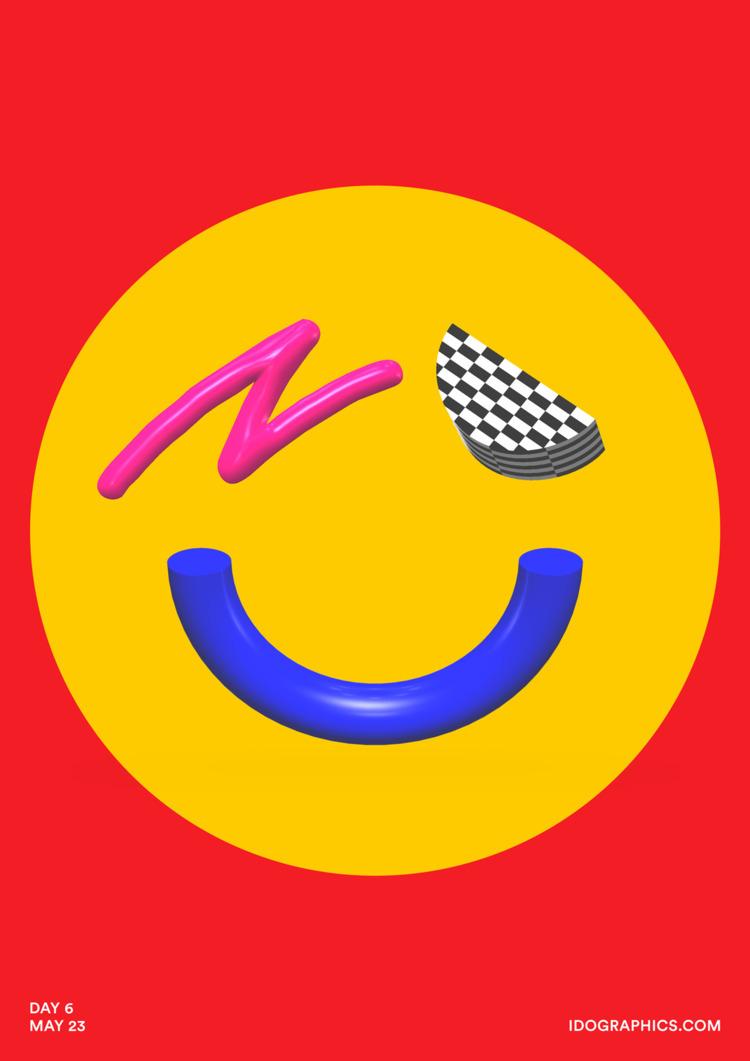 design, art, poster, color, 365 - idographics | ello