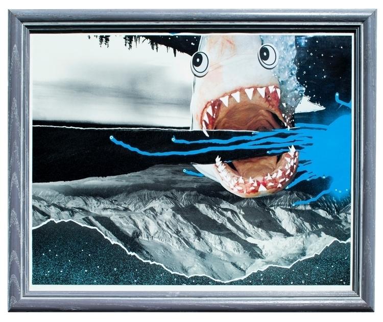 Shark Tweek Spraypaint, Ink, Co - clarenceemmons | ello