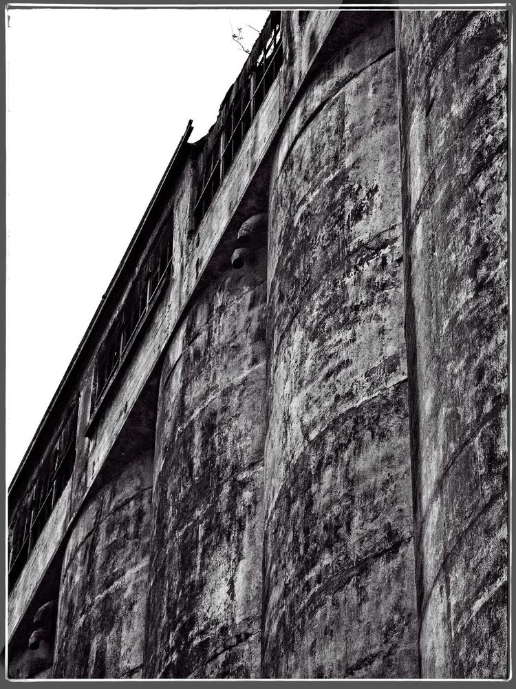 Abandoned Grain Elevator Buffal - neurodancer | ello