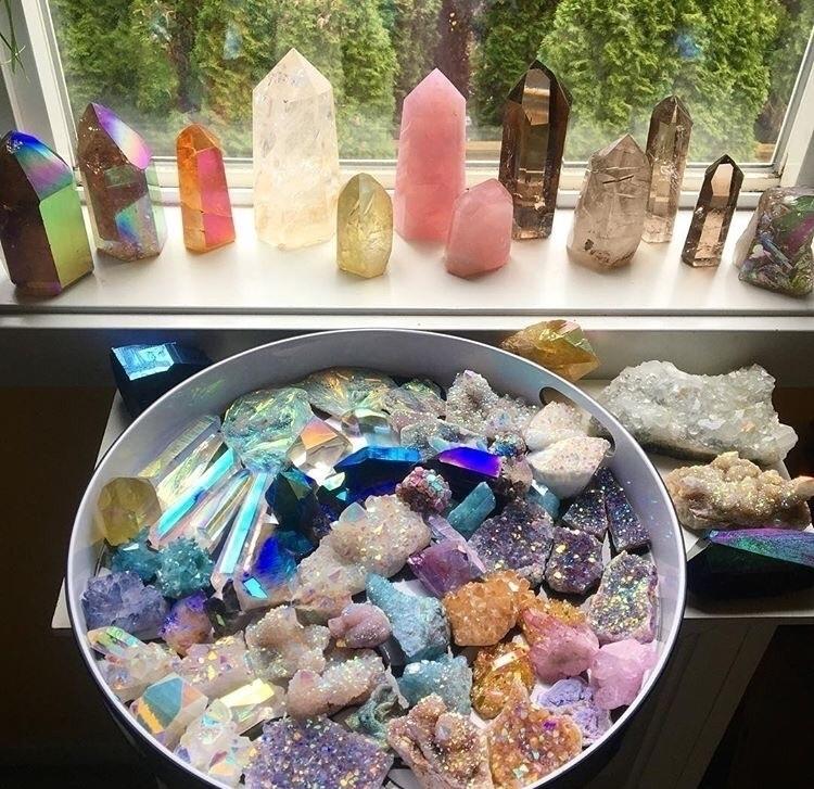 Crystal babies listed Etsy shop - midnightauracrystals | ello