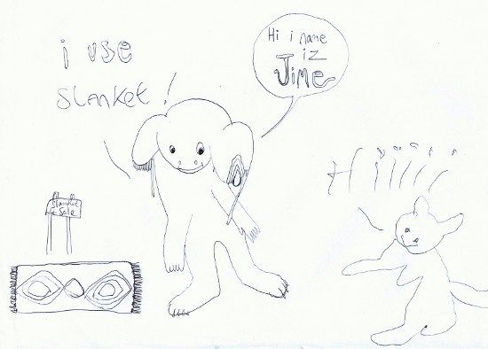 'Slanket Infomercial' ~2012 - jio_and_her_rags   ello