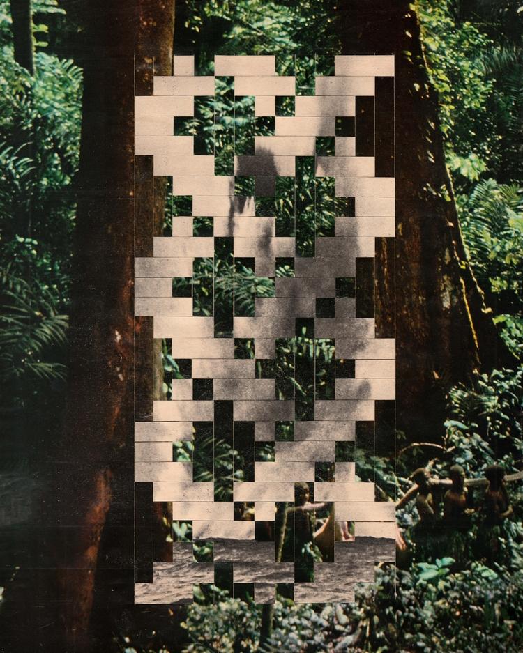 La jungle - 25,5x32,4 cm Paper  - claire_martine_   ello